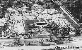 Foto luego del huracán Camille