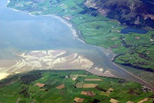 Estuario del río Nith, Escocia