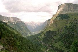 Valle de Ordesa (España).