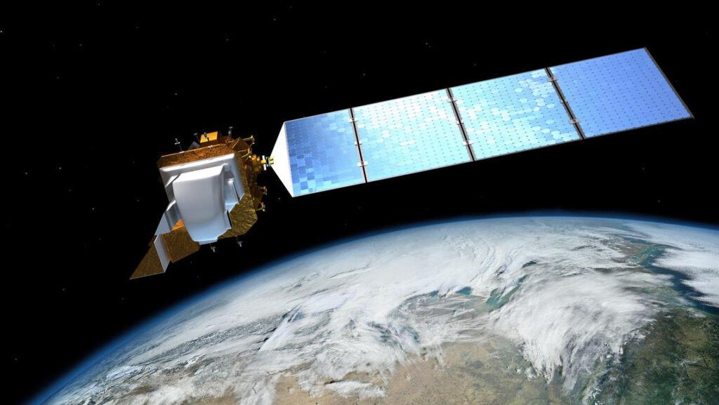Landsat_8_LDCM_Satellite_over_Earth
